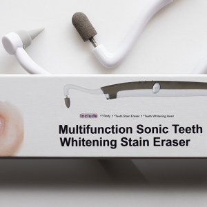 Sonic teeth whitening tool